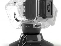 Polaroid Cube Waterproof Case with Suction Mount