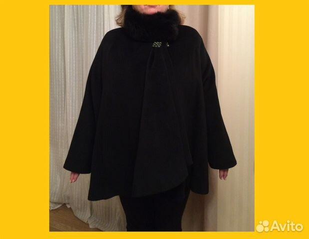 d128e1f43d0 Объявление о продаже Пальто новое шерстяное черное turba в Санкт-Петербурге  на Avito.