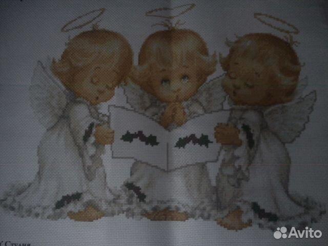 Схема для вышивания Три