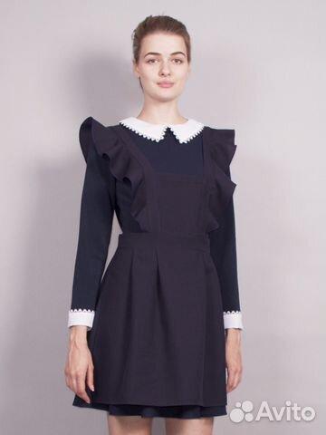 Школьные формы фартук и платье