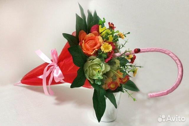 Вязание на спицах джемпер с цветами
