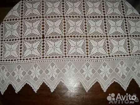 Покрывало, скатерть, плетение крючком за 1350р.