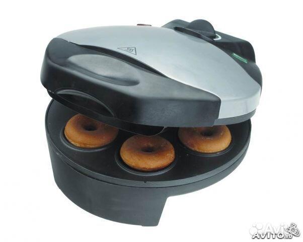 Легкий процесс приготовления Быстрое выпекание Равномерное прогревание со всех сторон Классическая форма пончика.