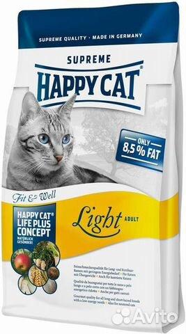 Happy cat сухой корм для кошек