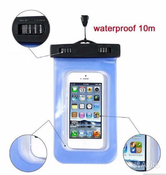 водонепроницаемый чехол для телефона 170х100 мм Festimaru
