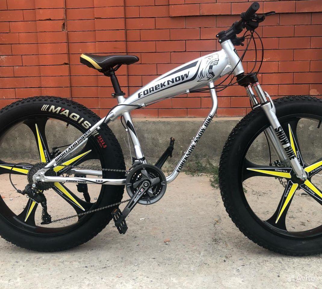 Велосипед FAT bike (фэтбайк)