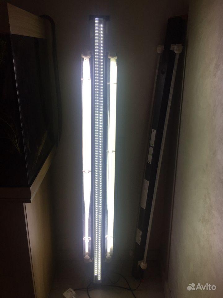 Аквариумный светильник Led + Т5 150 см купить на Зозу.ру - фотография № 2