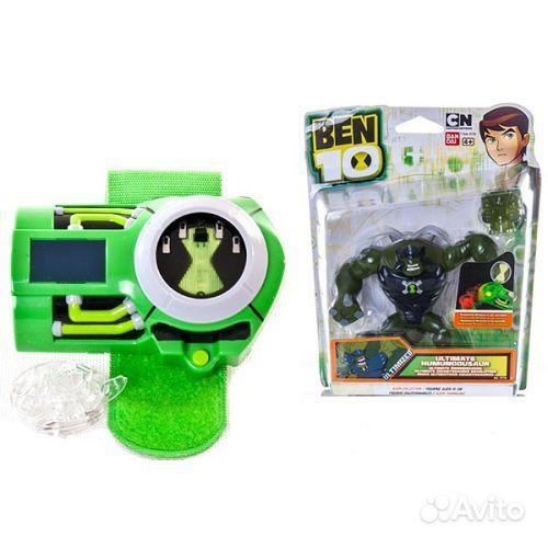 Купить игрушки Бен 10 по доступным ценам в
