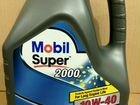 Mobil Super 2000 X1 10W-40, 4л