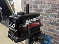 Лодочный мотор mercury ME 5 MH витрина 2 такта