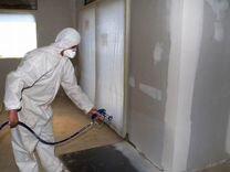 Шпаклёвка стен под обои и покраску
