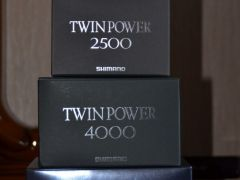Shimano 11 NEW Twin Power 2500S, C2000S, SW4000PG