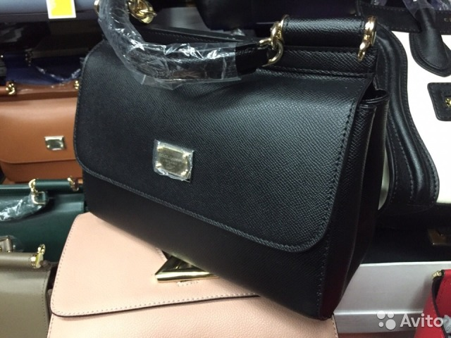 7b3ae837d257 Женская сумка Dolce Gabbana sicily medium черная | Festima.Ru ...