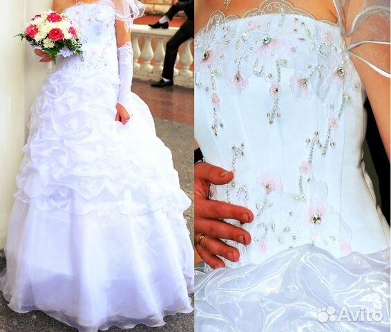 Брянск авито купить свадебное платье