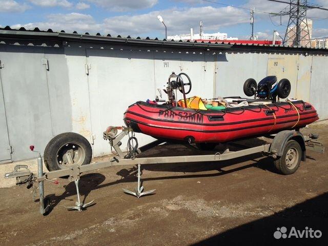 лодка mercury 380