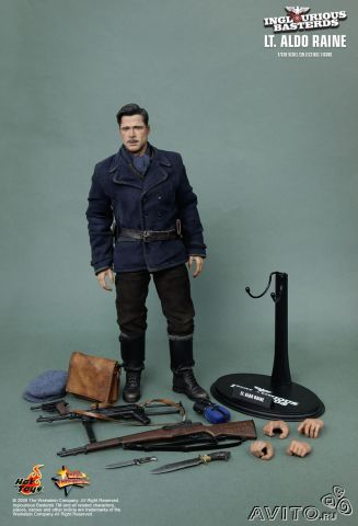 Hot toys Inglourious Basterds - Aldo Raine 1/6— фотография №1