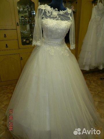 Продажа свадебного платья на авито