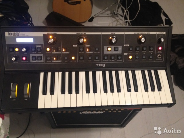 MOOG Little Phatty Stage II Synthesizer Windows 8 X64
