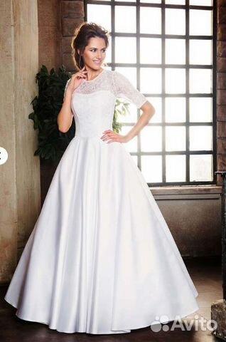 d59a4e81ab6 Новое свадебное платье София рукав Много в наличии— фотография №1