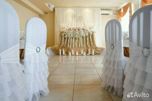 Авито чехлы на стулья свадебные