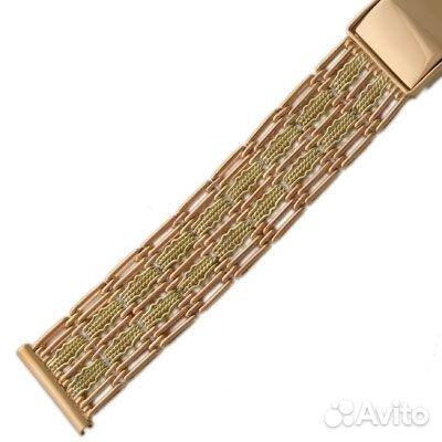 Как подобрать золотой браслет к часам