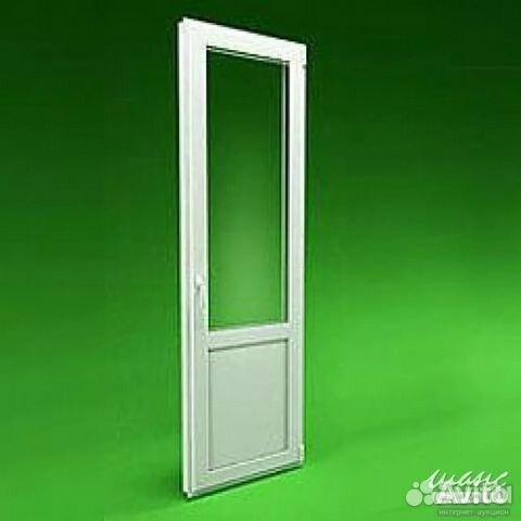 Дверь пластиковая балконная 750 х 2100 от компании авк серви.