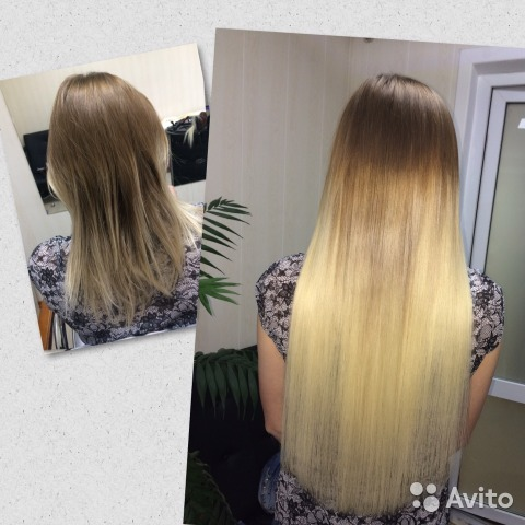 Услуги.наращивание волос