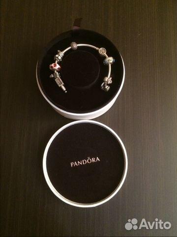 браслет Pandora в оригинальной коробке купить в москве на Avito