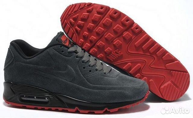 81253019 Nike Air Max 90 VT замшевые темно-серые | Festima.Ru - Мониторинг ...