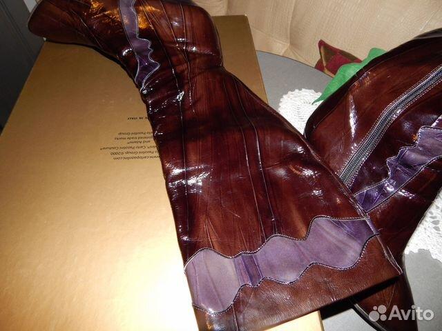 6bf410e93fad Сапоги- чистая лаковая кожа бренд Италия на 39 купить в Санкт ...