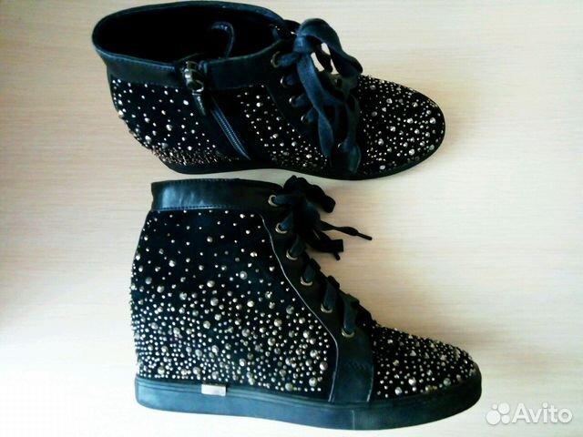 326bd0231 Шикарные ботинки со стразами Италия | Festima.Ru - Мониторинг объявлений