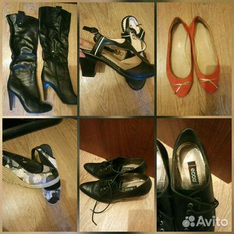 22d7769ab Кожаная обувь пакетом Экко и.т.д купить в Москве на Avito ...