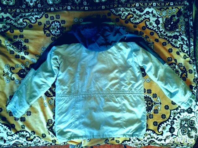 Куртка с капюшеном осень-весна 89225426469 купить 2