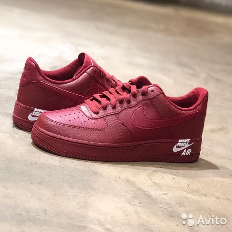 3e8bc0d1 Nike Air Force 1 low Dark Red | Festima.Ru - Мониторинг объявлений