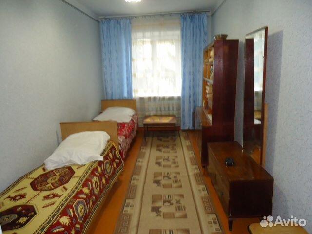 Продается трехкомнатная квартира за 1 550 000 рублей. Щигры, Курская область, Красная улица, 42.