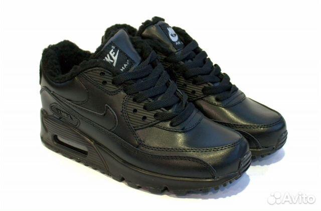 Кроссовки Nike Air Max 90 Black зимние (36 EUR)   Festima.Ru ... 7aded1b0103