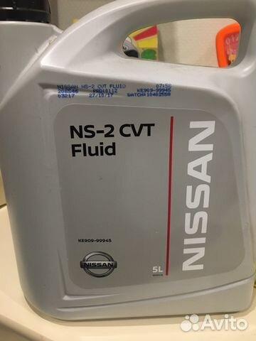Трансмиссионное масло nissan CVT Fluid NS-2 - 5 л