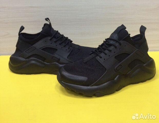 f2fbd295 Кроссовки Nike Huarache Black купить в Челябинской области на Avito ...