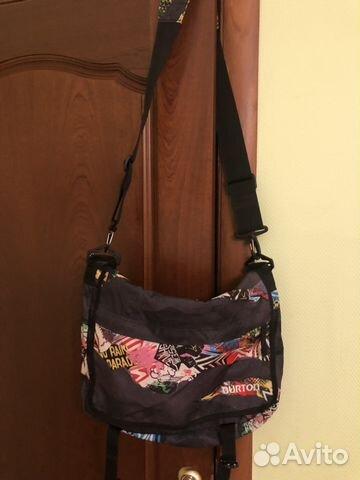 bae770ac9579 Спортивная сумка Burton купить в Челябинской области на Avito ...