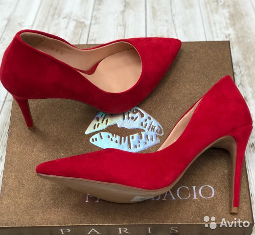 e4bbb898b Красные туфли лодочки каблук 10 см 36-40   Festima.Ru - Мониторинг ...