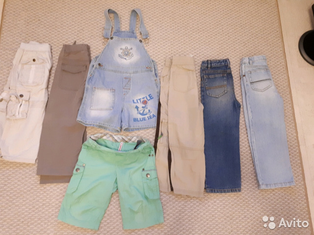 Брюки лето, шорты, футболки 98-104 89528045750 купить 1