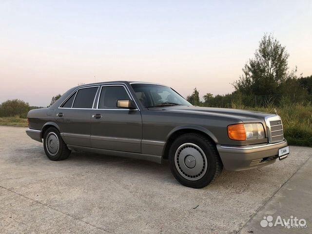 Mercedes-Benz S-класс, 1988 89062395760 купить 1