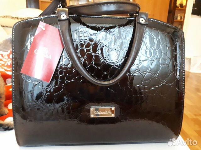Продам новую сумочку, красивая. Спереди лак-кожа  89107369814 купить 1