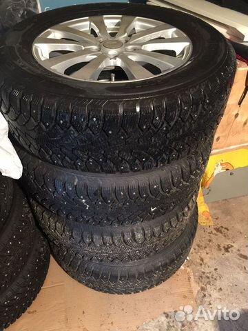 Комплект зимних колес на кроссовер  89825528614 купить 1