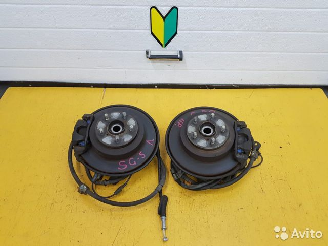 89625003353 Ступицы задние комплект Subaru Forester, SF5,SG5