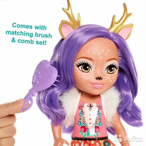 Enchantimals большая Кукла 31см в ассорт  89062132153 купить 5