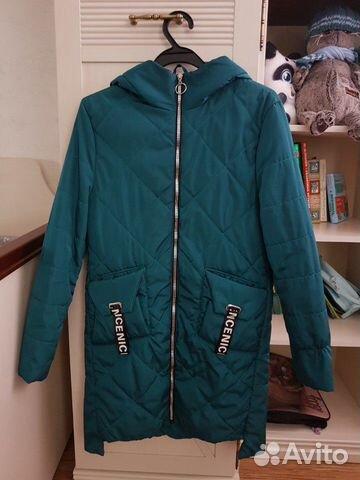 Демисезонное пальто 152-158 89206265449 купить 4