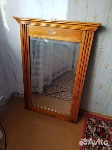 Старинное зеркало, 1911 год. Серебрение, раритет  89276587359 купить 1