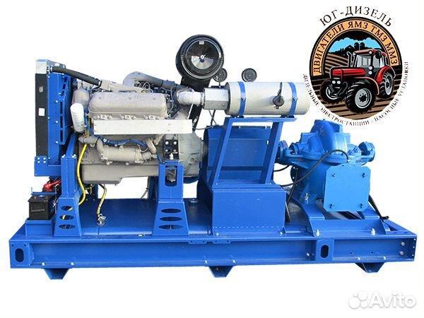 Дизельная насосная установка дну-740/48 Ямз