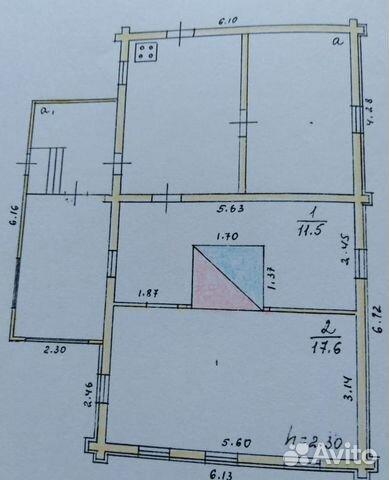 Дом 70 м² на участке 14 сот. 89206431907 купить 1